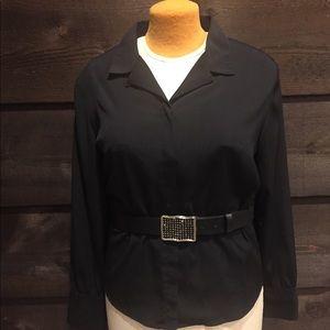 Pretty black blouse